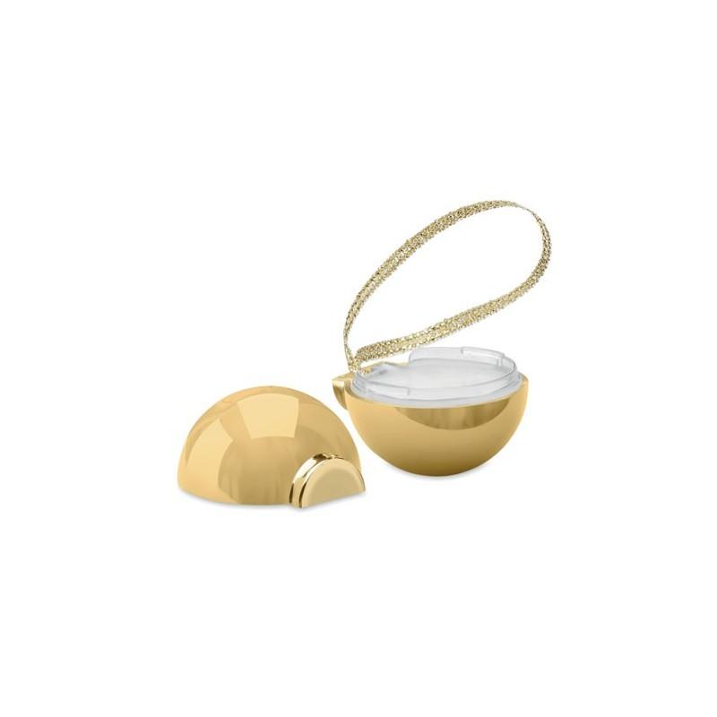 BAUBLEBAM - Balsam buze în glob de Crăciun CX1470-98, Gold