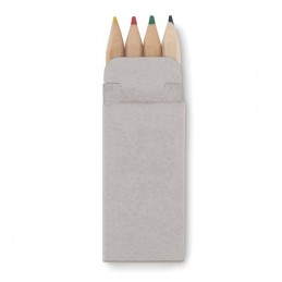 PETIT ABIGAIL - 4 mini-creioane colorate       MO8924-13, Beige