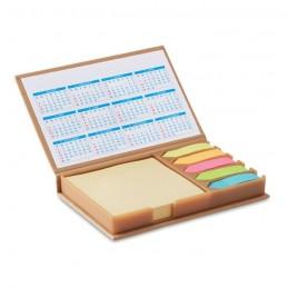 MEMOCALENDAR - Set birou notițe și calendar   MO9394-13, Beige