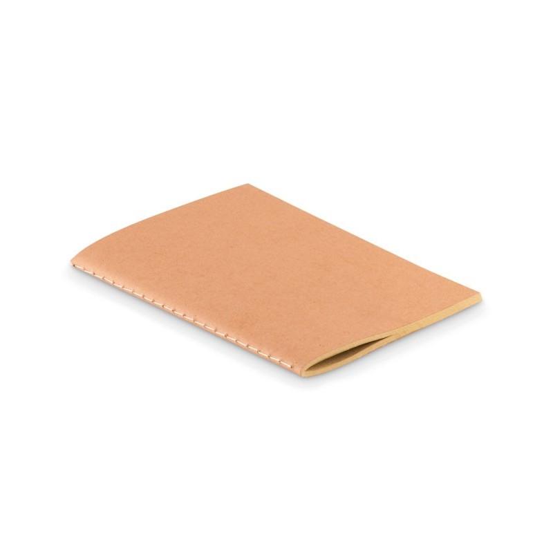 MINI PAPER BOOK - Notes cu copertă cartonată A6  MO9868-13, Beige