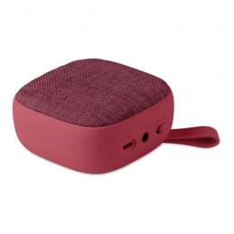 ROCK - Boxă BT textilă pătrată        MO9260-02, Burgundy