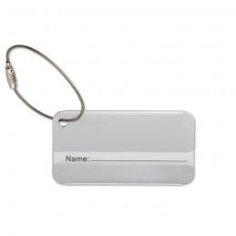 TAGGY - Etichetă pentru valiză         MO8352-16, Dull silver