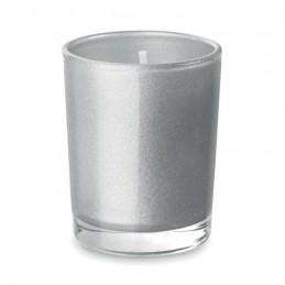 SELIGHT - Lumânare în pahar              MO9030-16, Dull silver