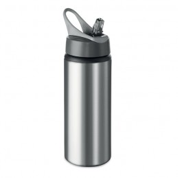 ATLANTA - Sticlă din aluminiu de 600 ml  MO9840-16, Dull silver