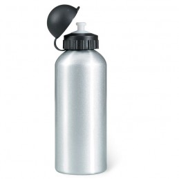 BISCING - Sticlă metalică. Volum 600 ml. KC1203-16, Dull silver