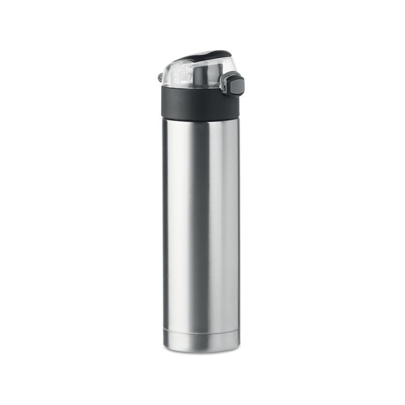 NUUK LUX - Sticlă cu gură de siguranță.   MO9660-16, Dull silver