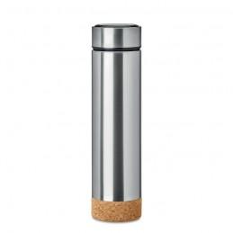 POLE CORK - Termos cu plută 450 ml         MO9946-16, Dull silver
