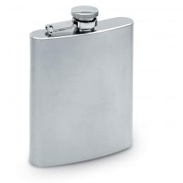 SLIMMY FLASK - Ploșcă îngustă, volum 200 ml.  KC4703-16, Dull silver