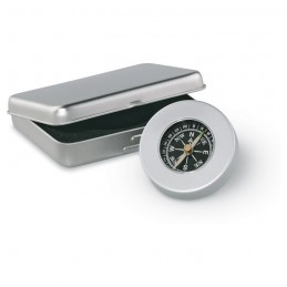 TARGET - Busolă clasică din aluminiu    AR1249-16, Dull silver