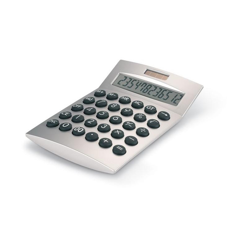 BASICS - Calculator solar 12 cifre      AR1253-16, Dull silver