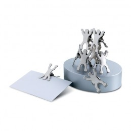 CASTILLO - Suport magnetic  agrafe        MO7298-16, Dull silver