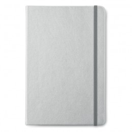 GOLDIES BOOK - Carnet A5 cu foi dictando      MO8637-16, Dull silver