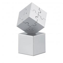 KUBZLE - Puzzle 3D din metal            AR1810-16, Dull silver