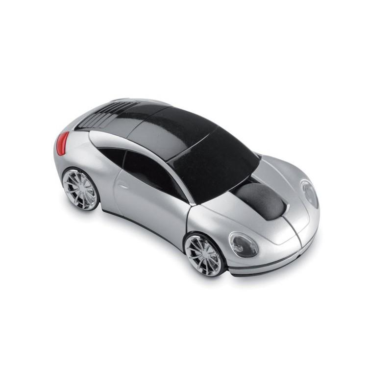 SPEED - Mouse fără fir în formă mașină MO7641-16, Dull silver