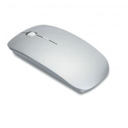 CURVY - Mouse fără fir                 MO8117-16, Dull silver