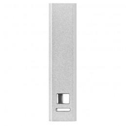 POWERALU - Încărcător din aluminiu        MO8602-16, Dull silver