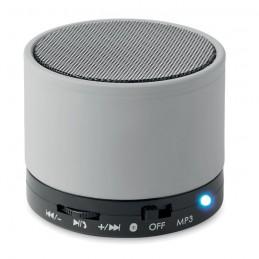 ROUND BASS - Boxă rotundă Bluetooth         MO8726-16, Dull silver