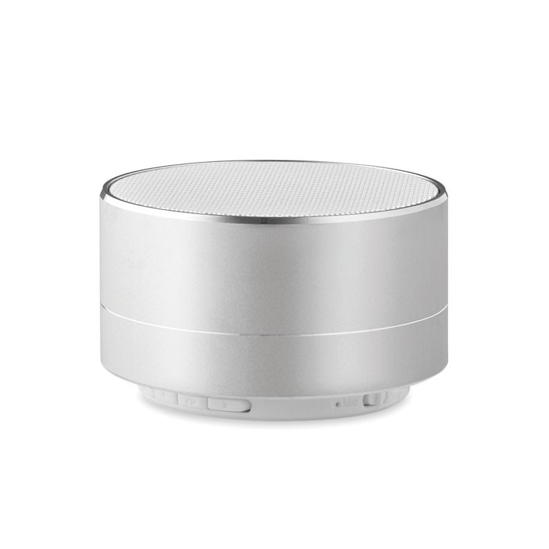 SOUND - Boxă bluetooth din aluminiu    MO9155-16, Dull silver