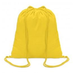 COLORosu - Sacoşă din bumbac 100 gr/m2, c MO8484-08, Yellow