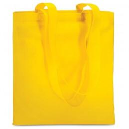 TOTECOLOR - Sacoşă de cumpărături neţesut  IT3787-08, Yellow
