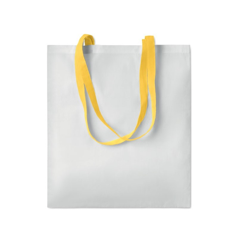 SUBLIM COTTONEL - Sublimation shopping bag       MO9559-08, Yellow