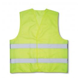 VISIBLE - Vestă din poliester            MO8062-08, Yellow
