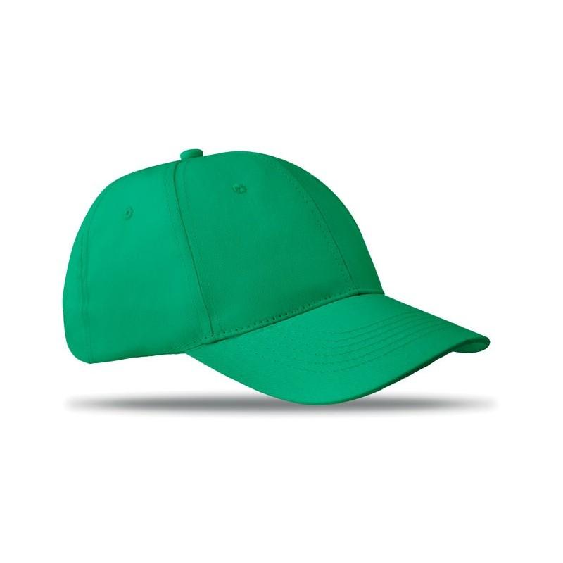 BASIE - Șapcă cu 6 panele              MO8834-09, Green