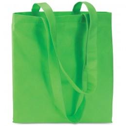 TOTECOLOR - Sacoşă neţesută de cumpărături IT3787-09, Green