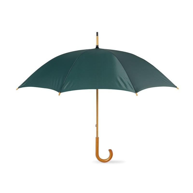 CALA - Umbrelă cu mâner din lemn      KC5132-09, Green