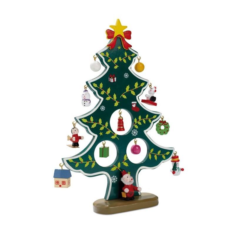 WOODTREE - Decoraţiune brad de Crăciun di CX1278-09, green