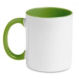 SUBLIMCOLY - Cană colorată pentru sublimare MO8422-09, Green