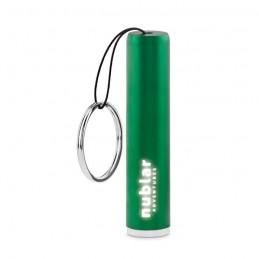 SANLIGHT - Lanternă plastic, logo luminos MO9469-09, Green
