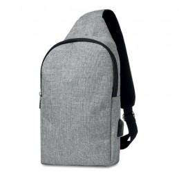 MOMO - Bum bag în 2 tonuri de culoare MO9628-07, Grey