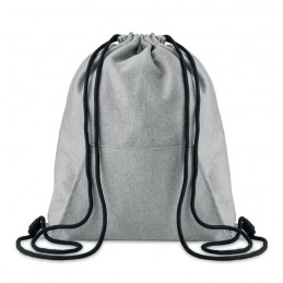 SWEATSTRING - Sac cu cordon și buzunar       MO9364-07, Grey