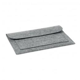 POUCHLO - Husa pentru laptop din pâslă   MO9818-07, Grey