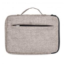 SLIMA BAG - Geantă pt. laptop cu fermoar   MO9990-07, Grey