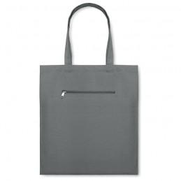 MOURA - Sacoşă cumpărături din pânză   MO8608-07, Grey