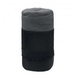 MUSALA RPET - Pătură de călătorie, lână RPET MO9935-07, Grey