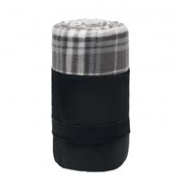 DINARA RPET - Pătură de călătorie, lână RPET MO9936-07, Grey