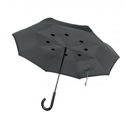 DUNDEE - Umbrelă cu 2 fețe              MO9002-07, Grey