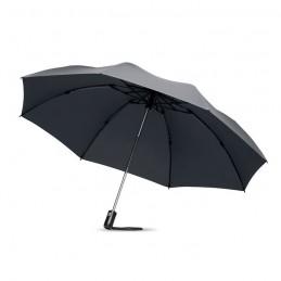 DUNDEE FOLDABLE - Umbrelă pliabilă reversibilă   MO9092-07, Grey