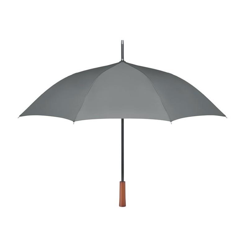 GALWAY - Umbrelă cu mâner din lemn      MO9601-07, Grey