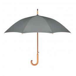 CUMULI RPET - Umbrelă de 23.5 inchi RPET     MO9629-07, Grey
