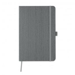 WOODY - Notes A5 în PU cu locaș pt pix MO9616-07, Grey