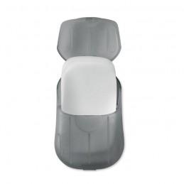 SOAP TO GO - Foi de săpun în carcasă de PP  MO9957-27, Transparent grey