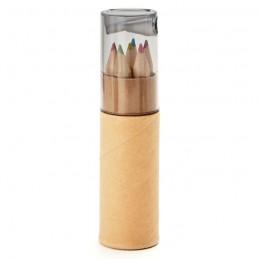 PETIT LAMBUT - 6 creioane în tub              MO8580-27, Transparent grey