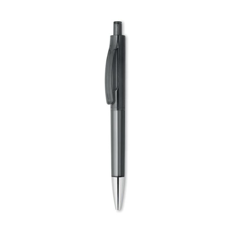 LUCERNE - Pix cu deschidere prin apăsare MO8813-27, Transparent grey