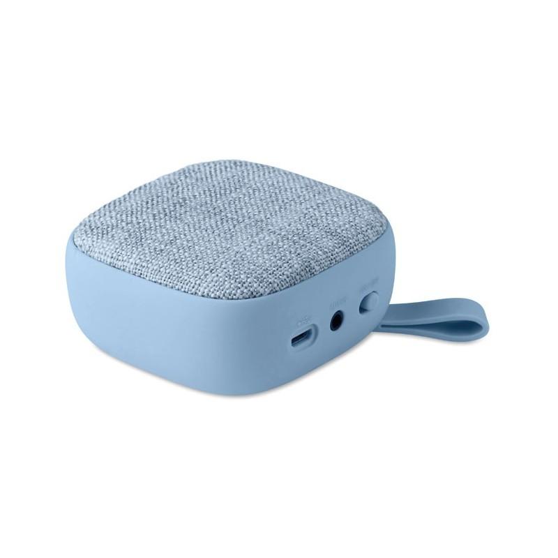ROCK - Boxă BT textilă pătrată        MO9260-66, Heaven blue