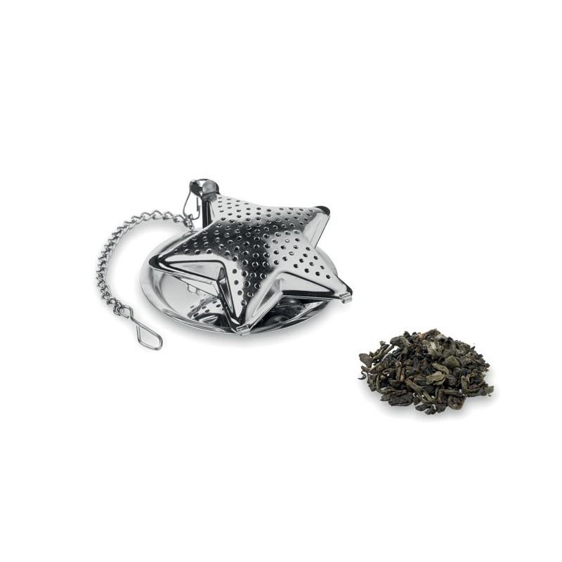 STARFILTER - Infuzor ceai în formă stea     CX1435-16, matt silver