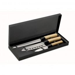 TAKI - Set cuţite în stil japonez     KC6841-99, Multicolour